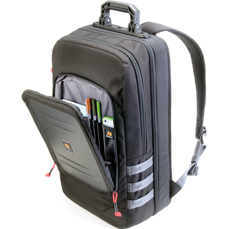 Pelican™ U105 Urban Laptop Backpack impacted protected front compartment