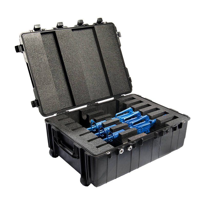 Black Pelican 1730 Transport Case customize your foam (Contents shown not included)