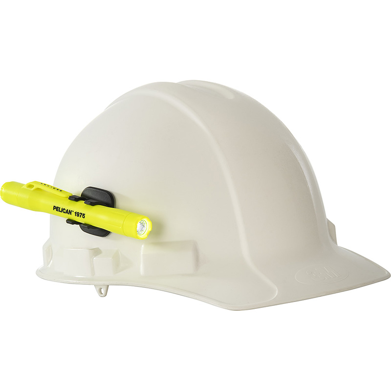 Pelican™ 1975 LED Penlight includes a helmet light holder