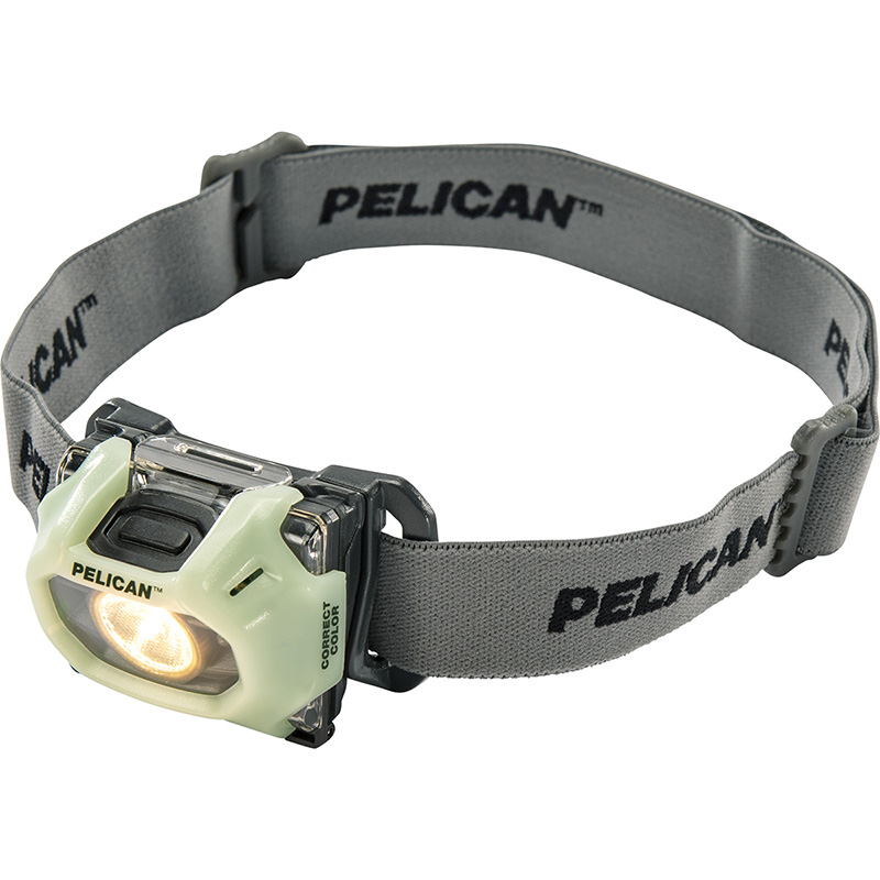 Pelican 2750CC LED Headlamp has an intense beam