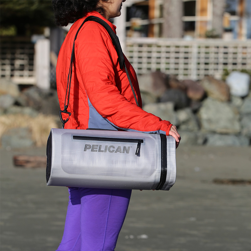 Pelican™ Dayventure Sling Cooler Lightweight design is the ultimate in portability