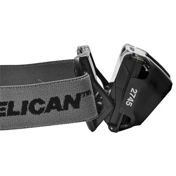 Pelican™ 2745 LED Headlamp capable of down-casting LED's
