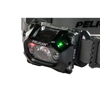 Pelican™ 2760 Headlamp full-time battery level indicator