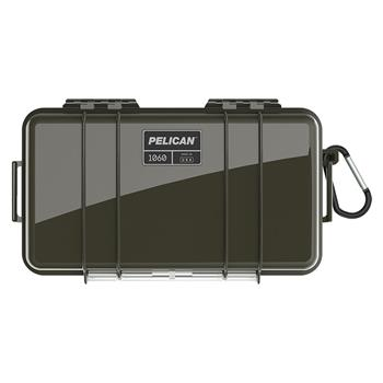 Olive Drab Pelican™ 1060 Micro Case with black liner