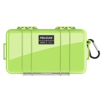 Bright Green Pelican™ 1060 Micro Case with black liner