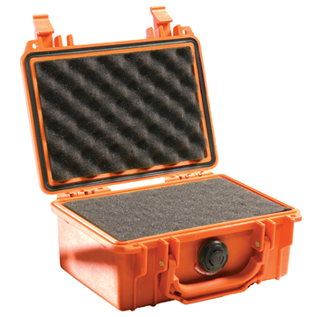 Orange Pelican 1120 Case with Foam