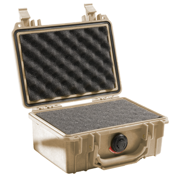 Desert Tan Pelican™ 1120 Case with foam