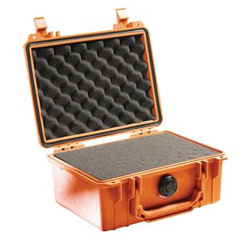 Orange Pelican 1150 Case with Foam