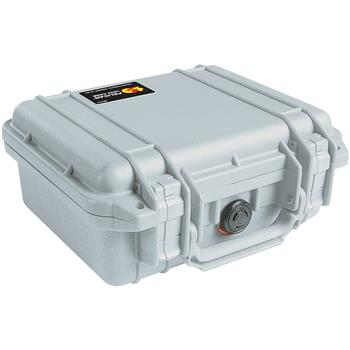 Silver Pelican 1200 Case with No Foam