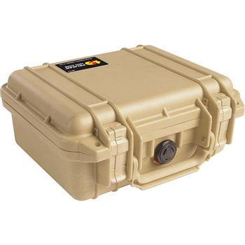 Desert Tan Pelican 1200 Case with No Foam