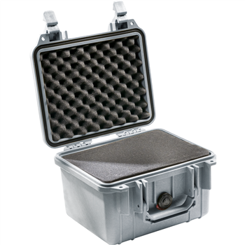Silver Pelican 1300 Case with Foam