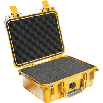 Yellow Pelican 1400 Case with Foam