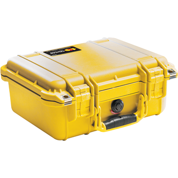 Yellow Pelican 1400 Case with No Foam