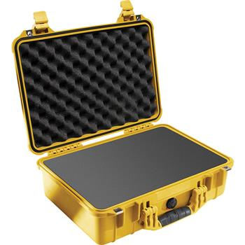 Yellow Pelican™ 1500 Case with foam