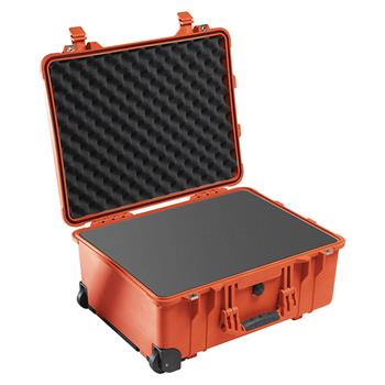Orange Pelican 1560 Case with Foam