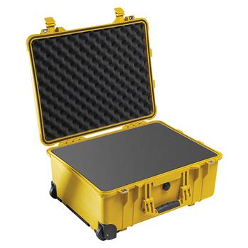 Yellow Pelican 1560 Case  with Foam