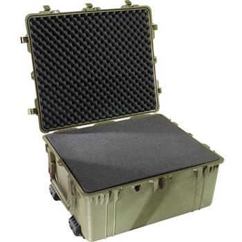Olive Drab Pelican 1690 Transport Case with Foam
