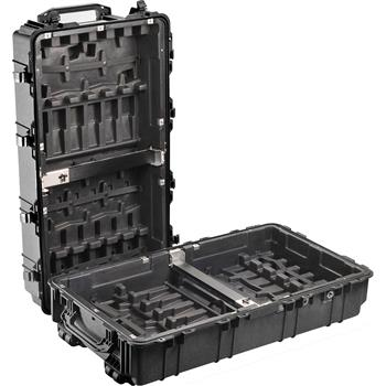 Black Pelican 1780 Transport Case with Rifle Hard Liner Insert