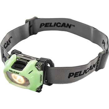 Pelican 2750CC LED Headlamp with photoluminscent face plate