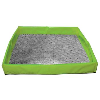 "Collapsible Utility Spill Tray 25"" x 25"" Andax Work Tray™"