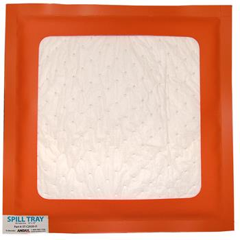 "Reusable Oil-Selective Absorbent Drip Pad 20"" x 20""  Andax Spill Tray™"