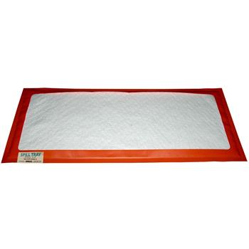 "Reusable Oil-Selective Absorbent Drip Pad 20"" x 40"" Andax Spill Tray™"
