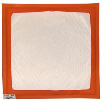 "Reusable Oil-Selective Absorbent Drip Pad 30"" x 30"" Andax Spill Tray™"