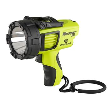 Yellow Streamlight Waypoint 300 Spotlight