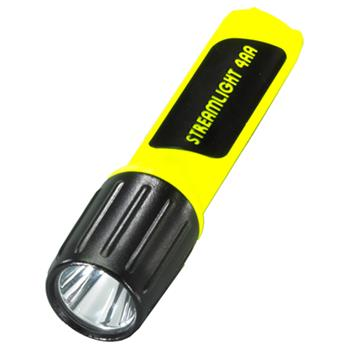 Yellow Streamlight 4AA ProPolymer Lux Div 2 LED Flashlight