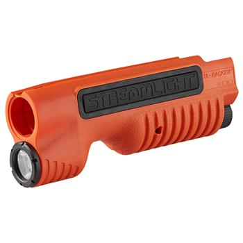 Orange Streamlight TLR-Racker Shotgun Forend Light for the Mossberg 500/590