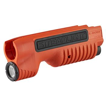 Orange Streamlight TLR-Racker Shotgun Forend Light for the Remington 870