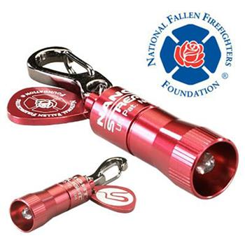 Red Streamlight Nano Light® LED Keychain Flashlight