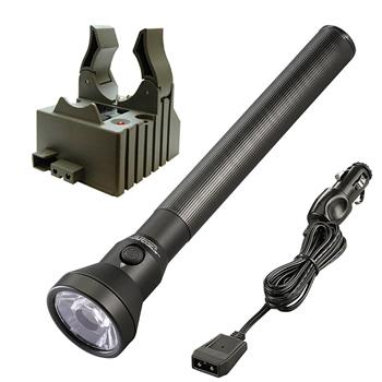 Streamlight UltraStinger LED Rechargeable Flashlight with DC Charge Cord and 1 Base