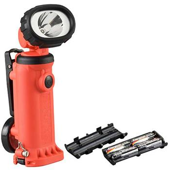 Orange Streamlight Knucklehead HAZ-LO Spot Worklight