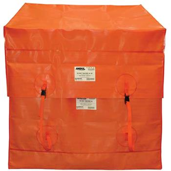 Pad-mount Transformer Containment Bag with Adjustable Cap