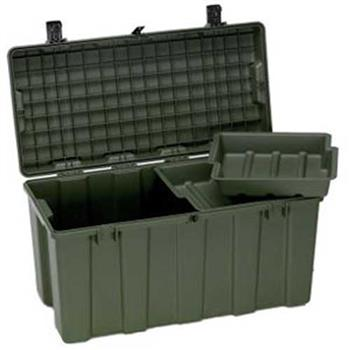 Olive Drab Pelican Injection-Molded Trunk Locker