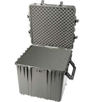 Black Pelican 370 Cube Case with Foam